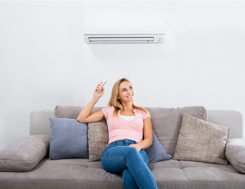 Air Conditioning in living room