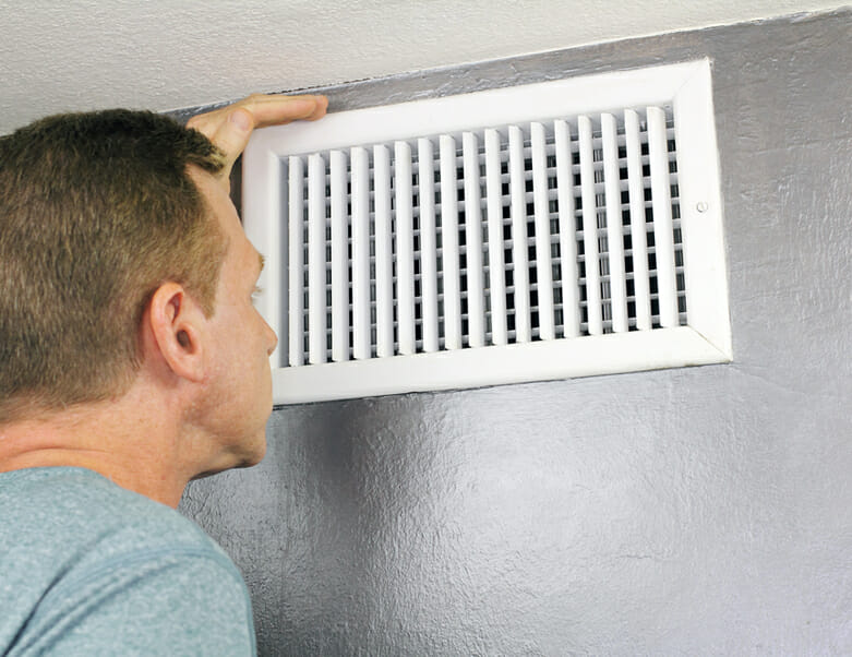 Central air conditioner filter