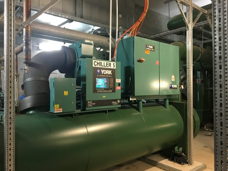 Chilled Water System Chiller York Brand