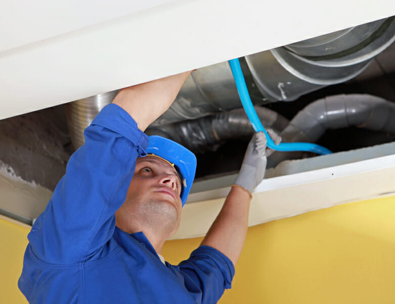 Ducted Air Conditioning in Ceiling