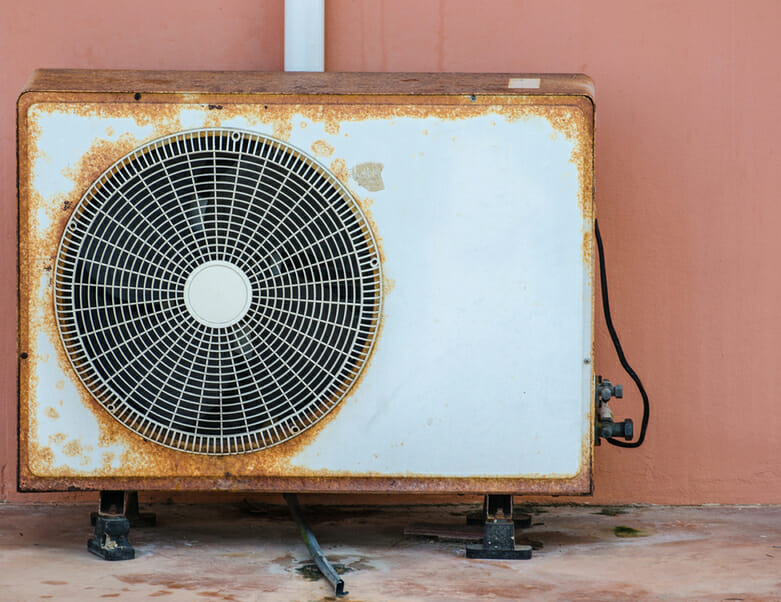 Old Air Conditioner