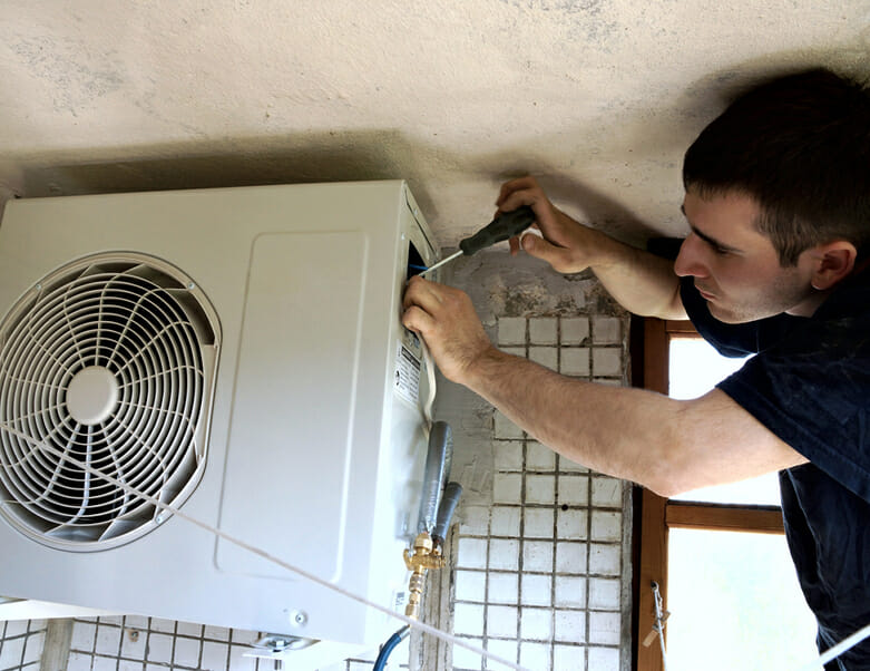 Residential air conditioning technician